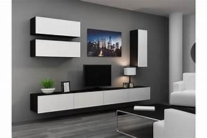 Meuble Tele Suspendu : meuble tv design suspendu fino chloe design ~ Teatrodelosmanantiales.com Idées de Décoration
