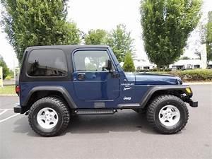 2000 Jeep Wrangler Sport    4x4    6cyl    5