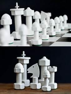 Screw, Chess, Pieces