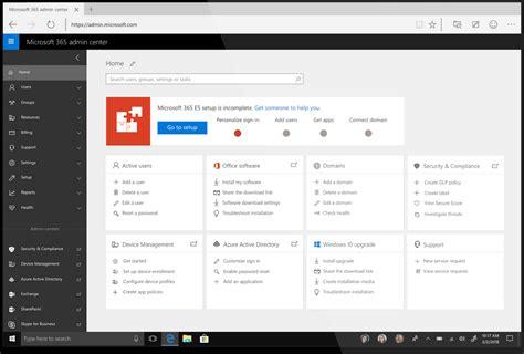 Office 365 Admin Web Portal by Office 365 Portal Gets A Facelift Msb365