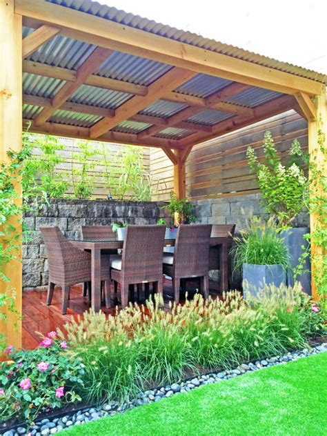 garden design backyard cedar pergola fence