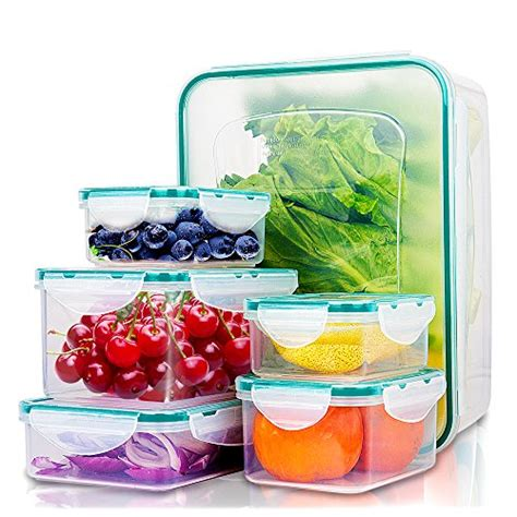 kitchen food storage container set best 18 food containers with lids 8103