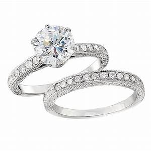 Vintage style engagement ring settings for Vintage wedding ring settings