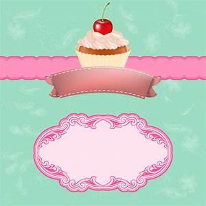 Vintage Cupcake Vector Background Vector Art & Graphics ...