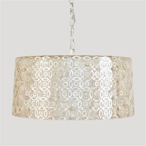 capiz shell light pendant comfortable beautiful home