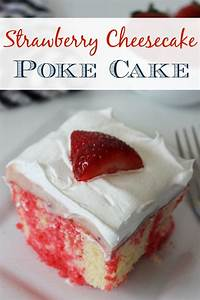 Strawberry Cheesecake Cake Recipe — Dishmaps