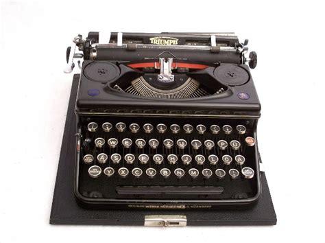 Triumph Schreibmaschine Wert by Kleine Ausstellung Quot Historische B 252 Rotechnik Quot