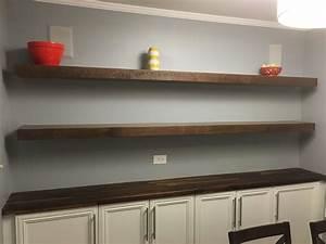 Handmade, Custom, Floating, Shelves, By, Built, Custom, Carpentry