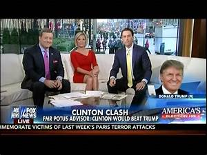 Fox & Friends Hosts Have No Reaction To Donald Trump ...