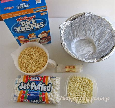 how to make rice crispy treats 4th of july rice krispie treat bowl hungry happenings