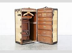 Oshkosh Antique Steamer Luggage Trunk Vintage Supply Store