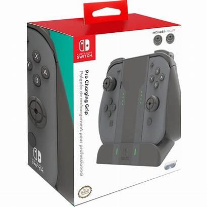 Grip Switch Nintendo Joy Con Pro Charging