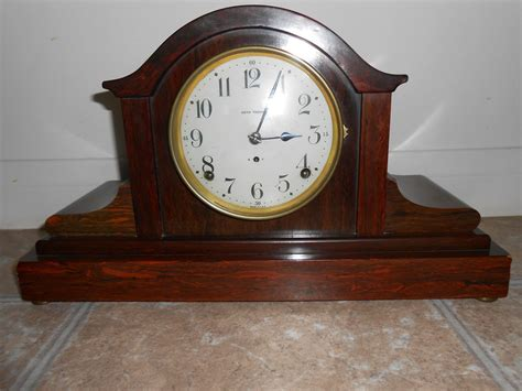 Antique Seth Thomas Mantle Clock Cherry Wood Works Chime