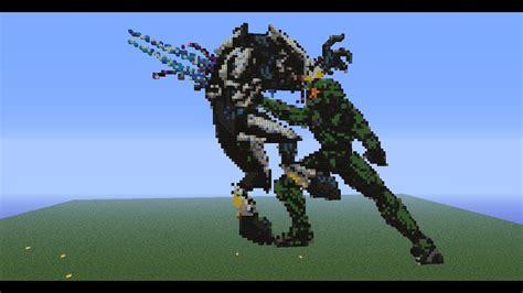 Aliencarpet Does Pixel Art Master Chief Vs Elite