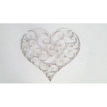 Shop items you love at overstock, with free shipping on everything* and easy returns. Distressed White Swirly Heart Metal Wall Decor - Walmart.com