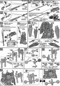 Hg Gouf R35 English Manual  U0026 Color Guide