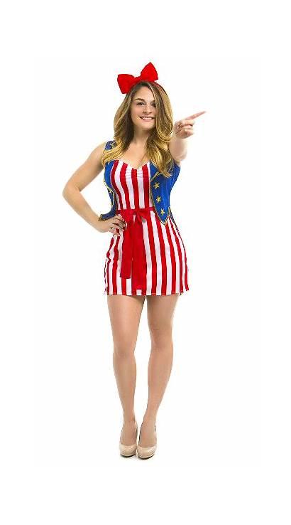 Donna Costume Usa Freedom Yy Yandy Tall