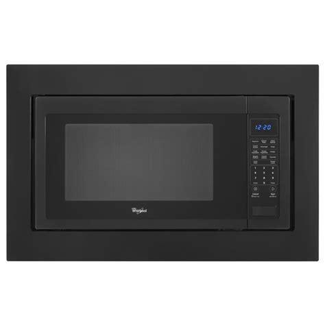 Shop Whirlpool Countertop Microwave Trim Kit (Black) at