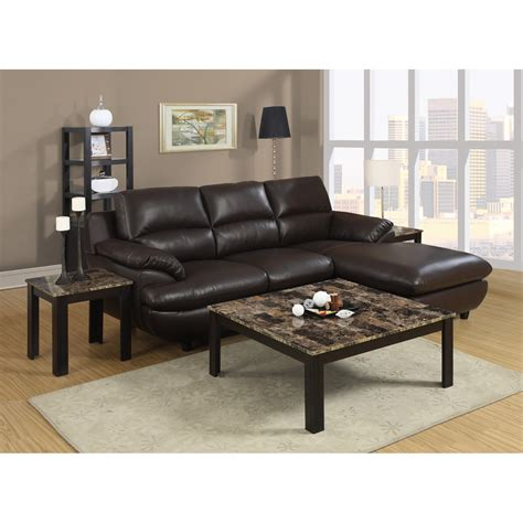 leather sofa table rectangle black granite coffee table counter top plus four brown wooden legs placed on the gray