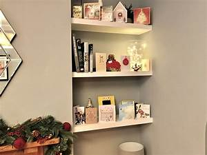 How, To, Build, Floating, Shelves, In, An, Alcove
