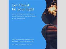 Customize 389+ Church Invitation templates online Canva