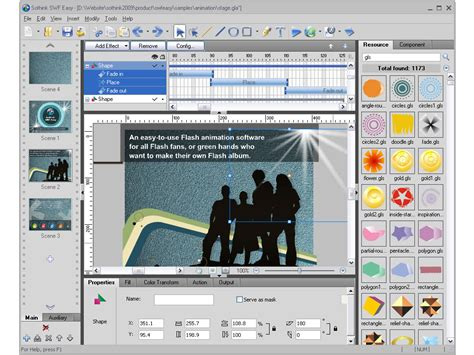 flash banner maker 6 4 by flash maker easy flash banner maker with 60 flash effects