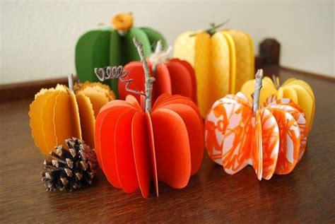 diy pumpkins diy decorative paper pumpkins diy fall crafts diy halloween d 233 cor holidays pinterest