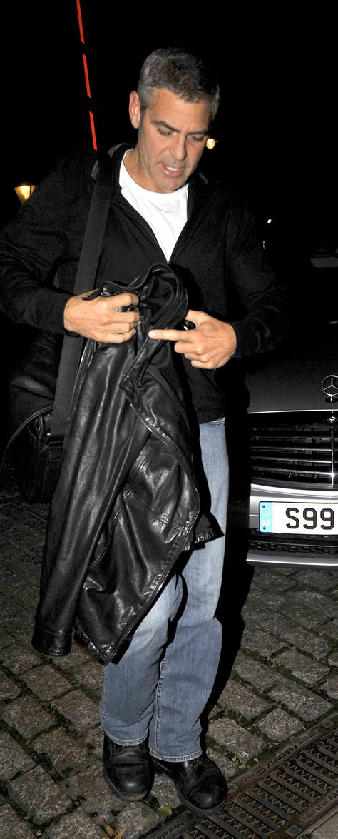 Photos of George Clooney in London, George Clooney London ...