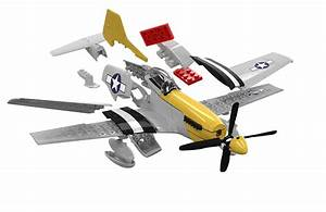 J6016 - Airfix Quick Build Mustang P-51d