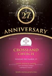 Church Anniversary Program Covers