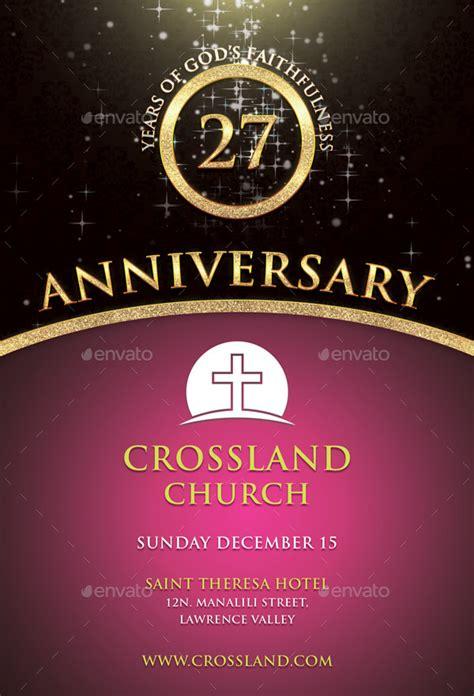 church anniversary flyer  bmanalil graphicriver