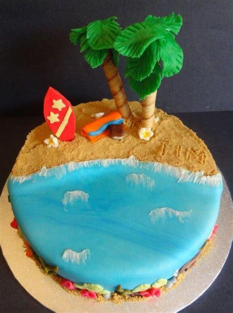 images  hawaiian cake ideas  pinterest