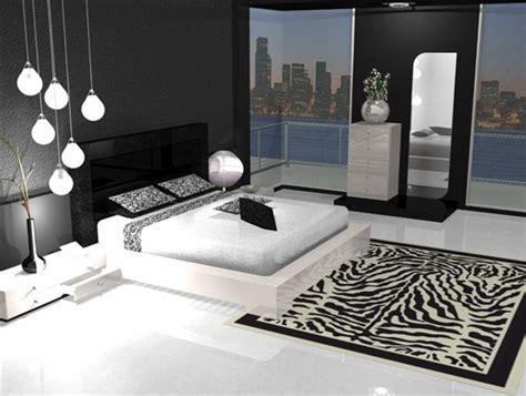chambre en noir et blanc conseils décoration chambre en noir et blanc