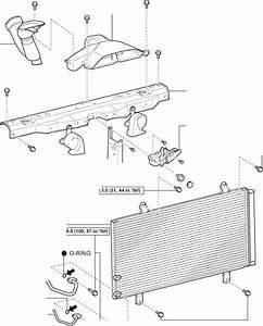 Condenser Components - Toyota Avalon Repair