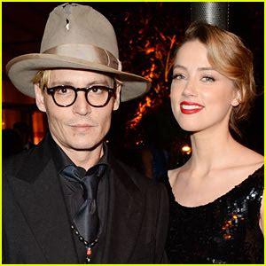 Johnny Depp & Amber Heard: Engaged! | Amber Heard, Engaged ...