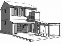 HD wallpapers architecture moderne maison dessin ...