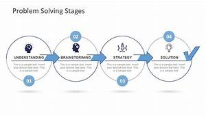 Problem Solving Stages Powerpoint Template