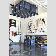 Diy Garage Organization Systems  Garage Reveal