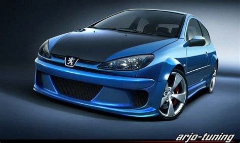 awesome peugeot car awesome peugeot 206 tuning peugeot photo 14630603
