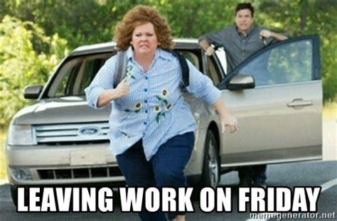 Leaving Work On Friday Meme - leaving work on friday running away tammy meme generator