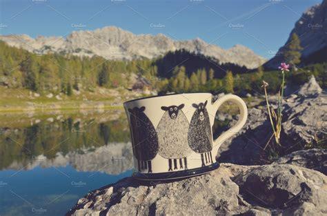 natural morning coffee nature  creative market