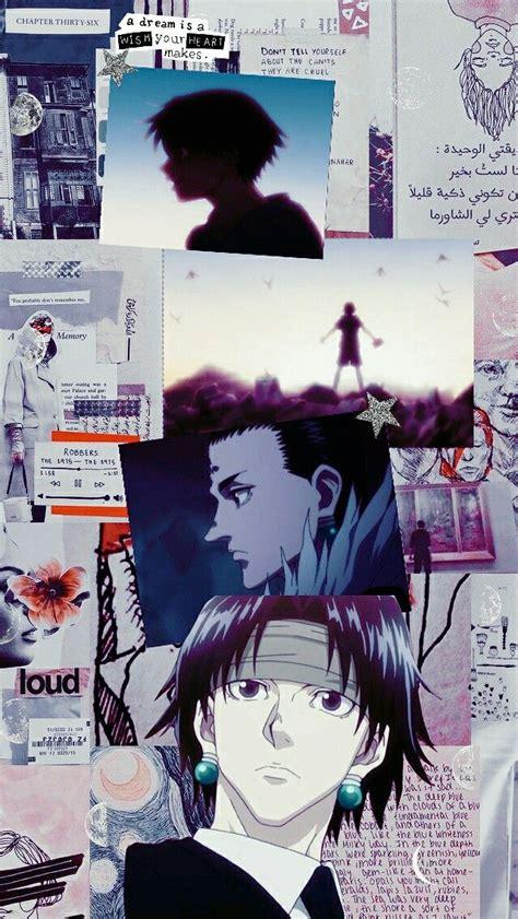 chrollo lucilfer edit lockscreen   anime hunter