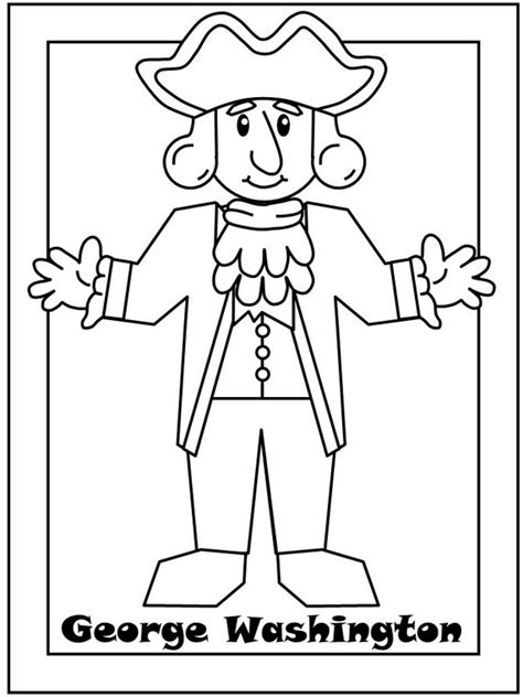 george washington coloring pages  coloring pages