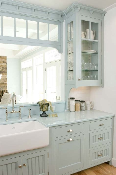 kitchen dresser ideas 23 gorgeous blue kitchen cabinet ideas