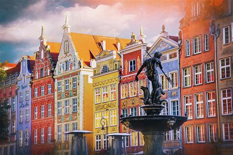 The baltic's golden oldie has a new spring in its step, and what's more, her two brothers we look forward to passing on all the best information and advice about gdansk, sopot. Neptune's Fountain Long Market Gdansk Poland Photograph by Carol Japp