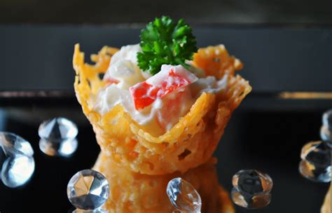 canape cups recipes parmesan cups for simple canapes duhlicious