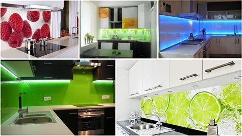 Backsplash In Kitchen Ideas - lacobel szkło w kuchni panele szklane pomiędzy szafki kuchenne youtube