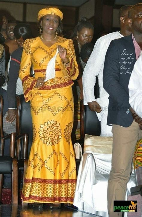 ghanaian women kaba  slit  beautiful kaba outfit ideas