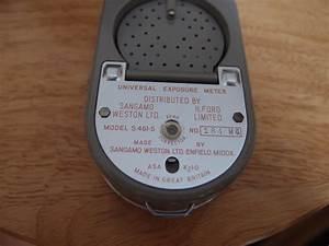 Weston Master V Light Meter Instructions