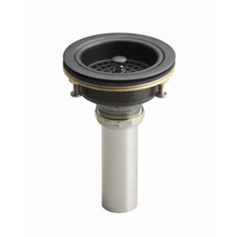 Kohler Utility Sink Drain by Shop Kohler Rubbed Bronze Lift And Turn Decorative
